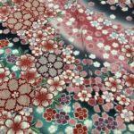 三重県伊勢市で振袖・振袖レンタルを扱っておりますおく宗です。桜文様の着物について。